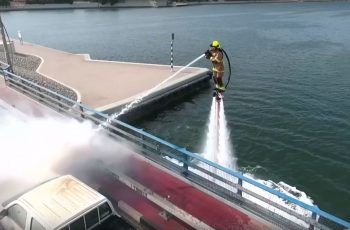 Waterjet-Propelled-hoverboards-for-firefighters
